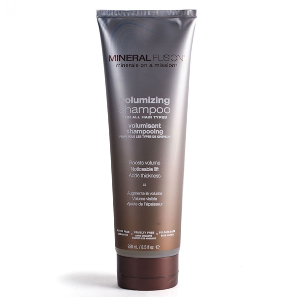 Mineral Fusion, Champú voluminizador Minerals on a Mission, 8,5 oz fluidas (250 ml)