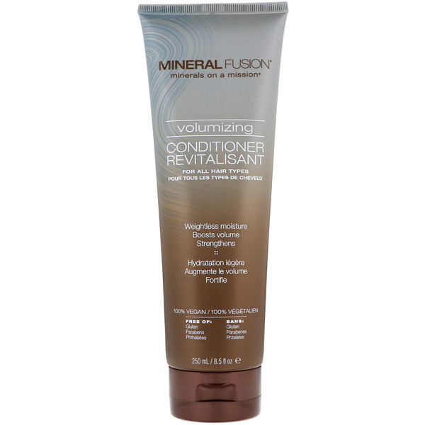 Mineral Fusion, Minerals on a Mission, Volumizing Conditioner, 8.5 fl oz (250 ml) (Discontinued Item)