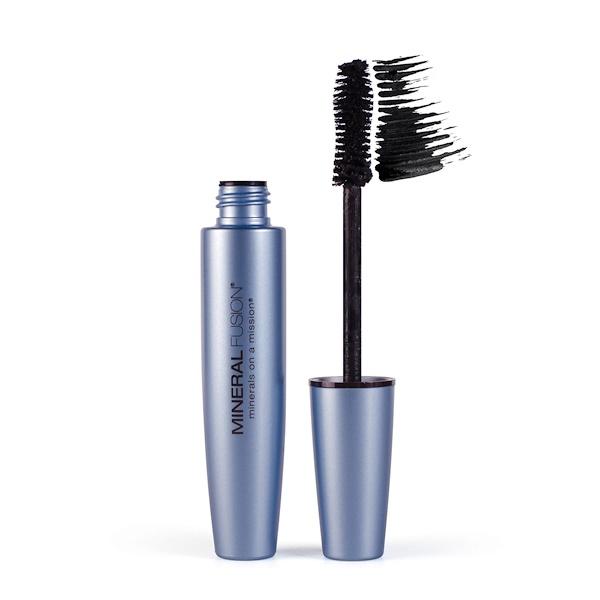Mineral Fusion, Waterproof Mascara, Raven, 0.57 fl oz (17 ml) (Discontinued Item)