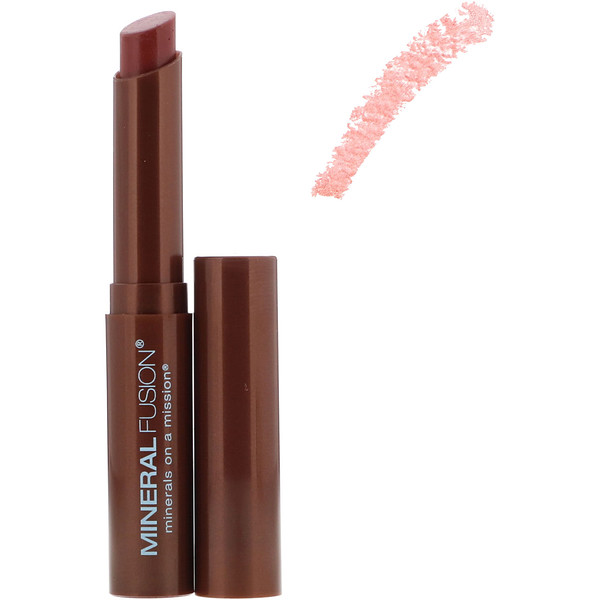 Mineral Fusion, Lipstick Butter, Pomegranate, 0.06 oz (1.8 g) (Discontinued Item)