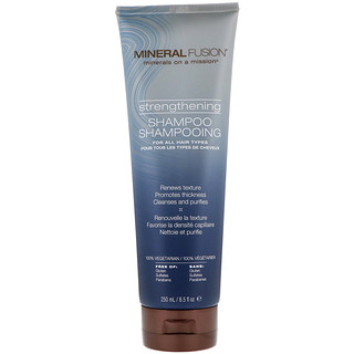 Mineral Fusion, Strengthening Shampoo, For All Hair Types, 8.5 fl oz (250 ml)