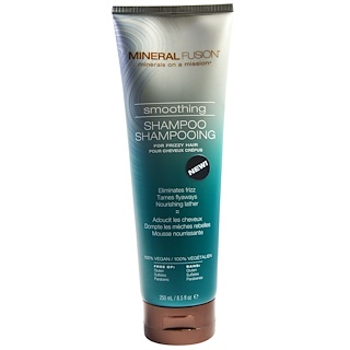 Mineral Fusion, Smoothing Shampoo, For Frizzy Hair, 8.5 fl oz (250 ml)