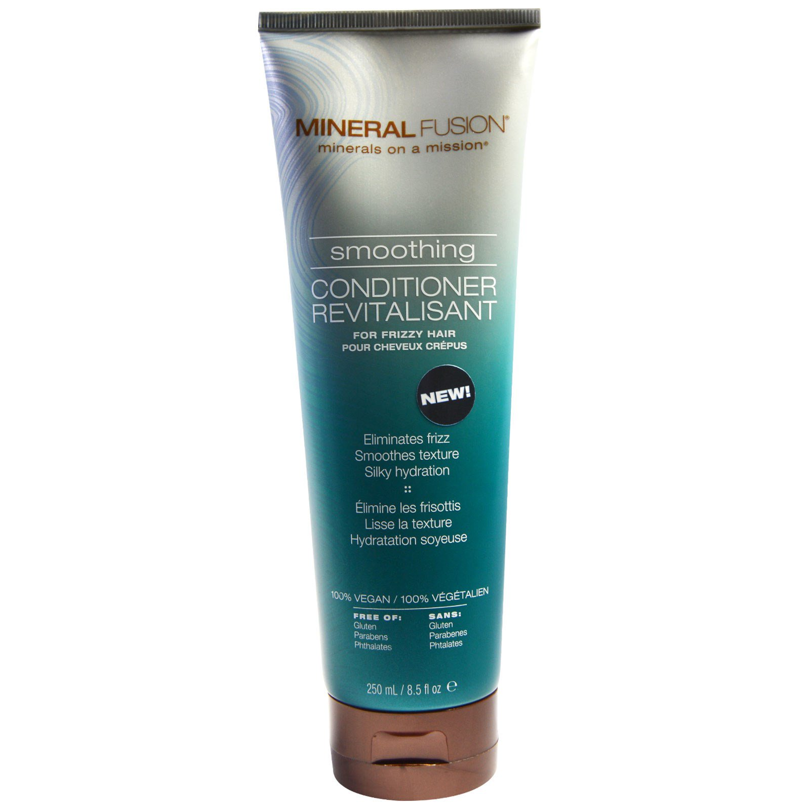 Mineral Fusion, Разглаживающий кондиционер, для вьющихся волос, 8,5 жидк. унц. (250 мл)