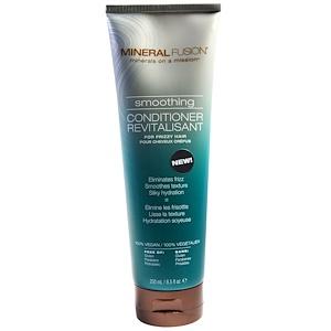 Минерал Фьюжн, Smoothing Conditioner, For Frizzy Hair, 8.5 fl oz (250 ml) отзывы покупателей