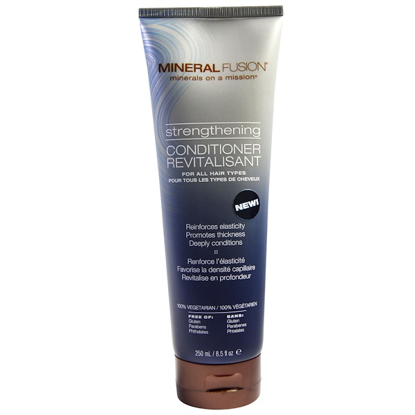 Mineral Fusion, Strengthening Conditioner, For All Hair Types, 8.5 fl oz (250 ml) (Discontinued Item)