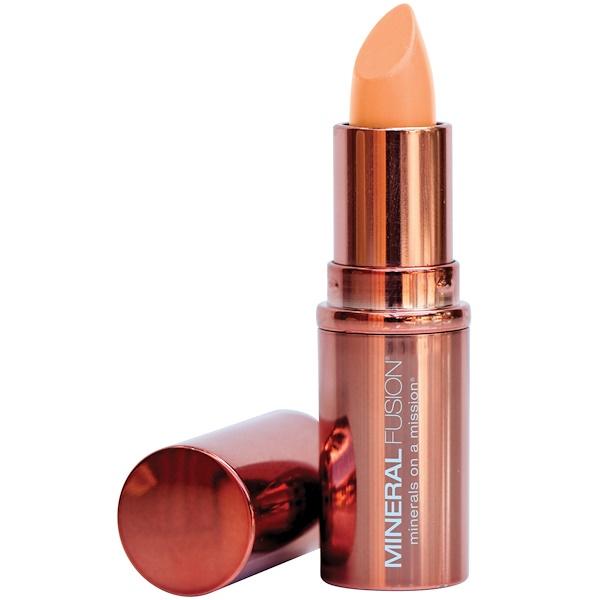 Mineral Fusion, Lipstick, Melon, 0.137 oz (3.9 g) (Discontinued Item)