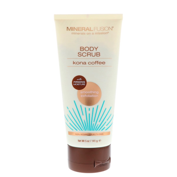 Body Scrub, Kona Coffee, 5 oz (141 g)