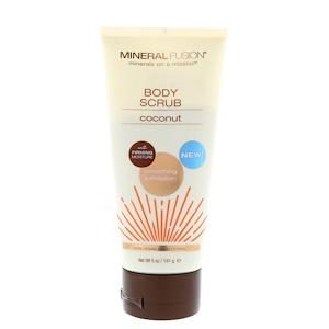 Минерал Фьюжн, Body Scrub, Coconut, 5 oz (141 g) отзывы