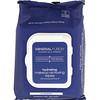 Mineral Fusion, Overnight Renewal, Lingettes démaquillantes hydratantes, 30 lingettes de toilette