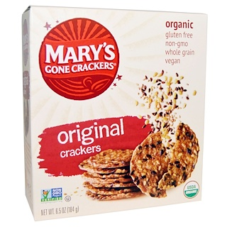 Mary's Gone Crackers, 오리지널 크랙커(Original Crackers), 6.5 oz (184 g)