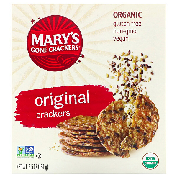 Mary's Gone Crackers, Original Crackers, 6.5 oz (184 g)