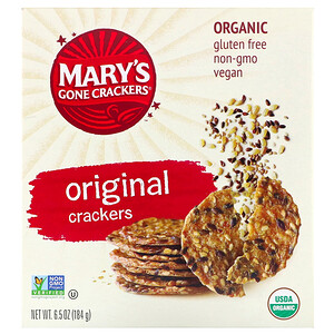 Мэри Гон Крэкэрс, Original Crackers, 6.5 oz (184 g) отзывы покупателей