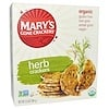 Mary's Gone Crackers, Organic, Herb Crackers, 6.5 oz (184 g)