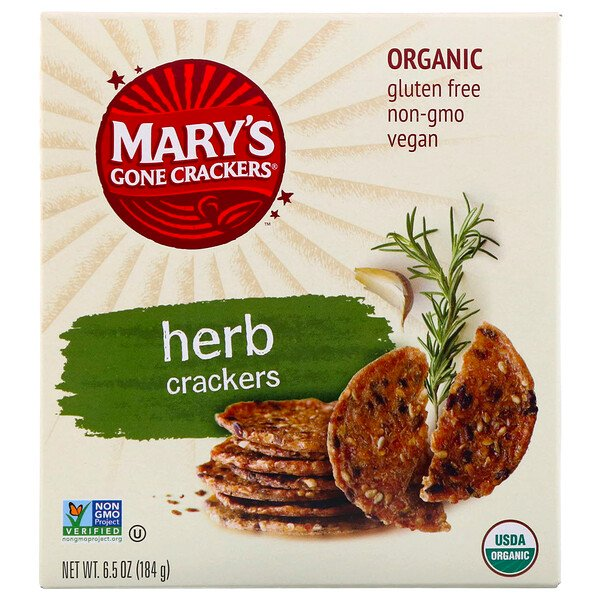 Herb Crackers, 6.5 oz (184 g)