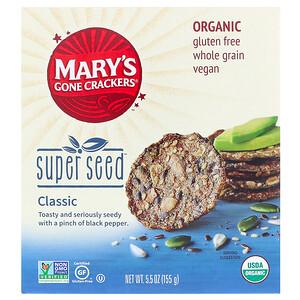 Мэри Гон Крэкэрс, Super Seed Crackers, Classic, 5.5 oz (155 g) отзывы
