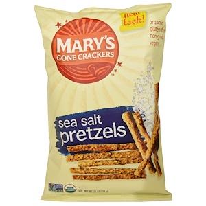 Мэри Гон Крэкэрс, Organic, Stick & Twigs Pretzels, Sea Salt, 7.5 oz (212 g) отзывы покупателей