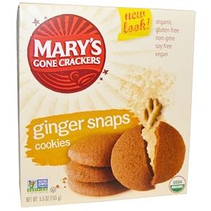 Мэри Гон Крэкэрс, Cookies, Ginger Snaps, 5.5 oz (155 g) отзывы