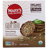 Mary's Gone Crackers, Galletas de súper semillas, Todo, 5,5 oz (155 g)