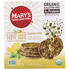 Mary's Gone Crackers, Galletas Super Seed, limón y eneldo, 141 g (5 oz)