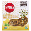 Mary's Gone Crackers, Biscoitos Super Seed, Limão e Endro, 5 oz (141 g)