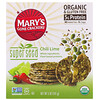 Mary's Gone Crackers, Galletas Super Seed, chile y lima, 141 g (5 oz)