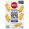Mary's Gone Crackers, Real Thin Crackers، ملح البحر، 5 أوقية (141 جم)