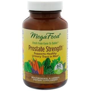MegaFood, Prostate Strength, 60 Tablets