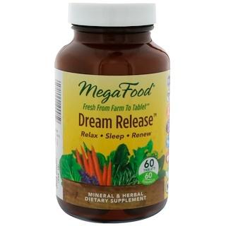 MegaFood, Dream Release, 60 Tablets
