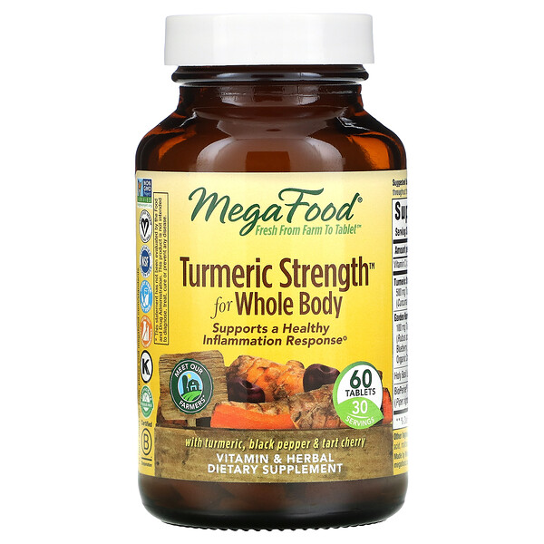 Turmeric Strength for Whole Body, 60 Tablets