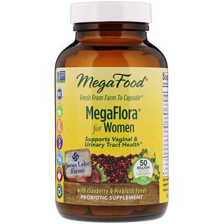 MegaFood, МегаФлора Для женщин, 90 капсул