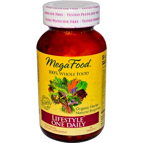 MegaFood, LifeStyle One Daily, 90 Tablets (Discontinued Item)