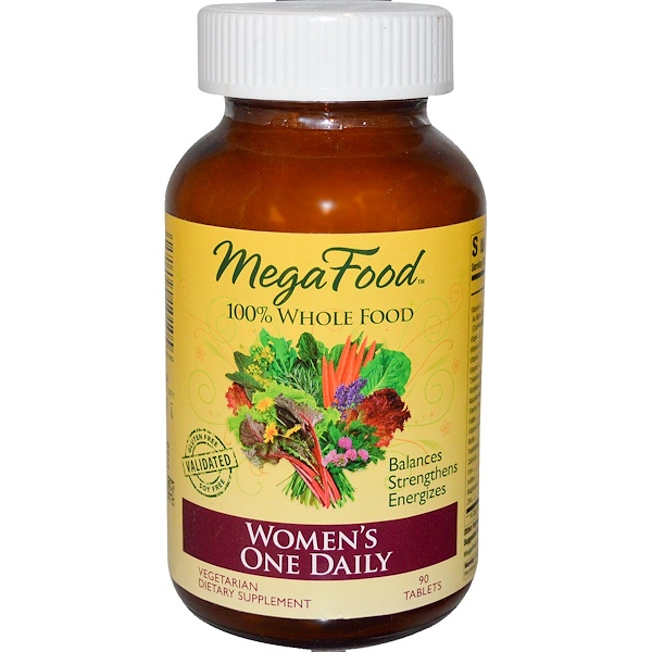 MegaFood, Women's One Daily, 90 Tablets (Discontinued Item)