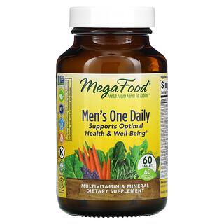 MegaFood, Suplemento para hombres, Un comprimido diario, 60comprimidos
