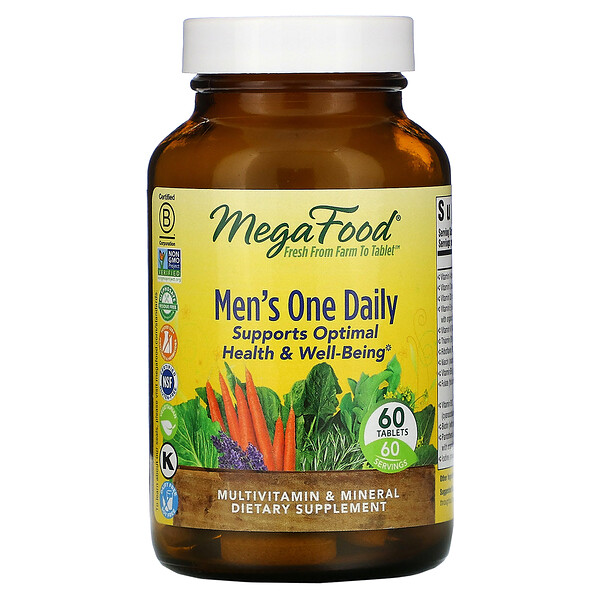 Men's One Daily, 60 Tablets