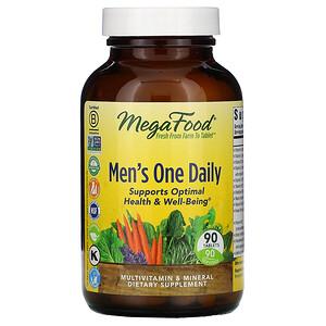 Мегафудс, Men's One Daily, Iron Free, 90 Tablets отзывы покупателей