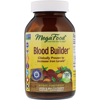 MegaFood, Восстановление крови, 180 таблеток
