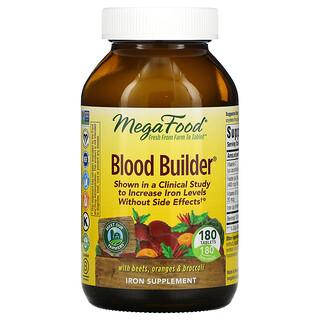 MegaFood, Blood Builder, 180정