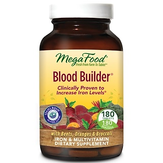 MegaFood, Blood Builder、180錠