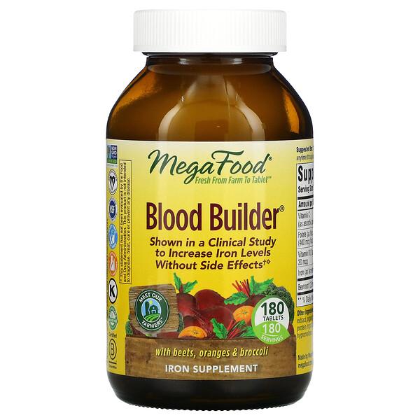 Blood Builder, 180 Tablets