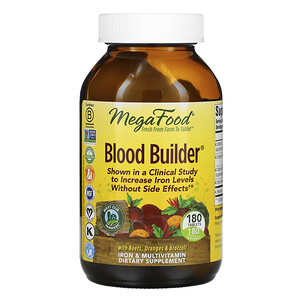 Мегафудс, Blood Builder, 180 Tablets отзывы