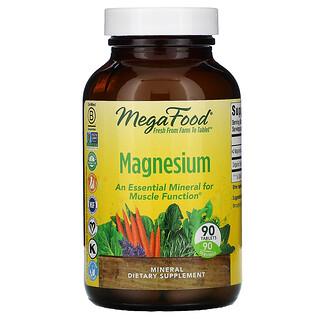 MegaFood, магний, 90таблеток