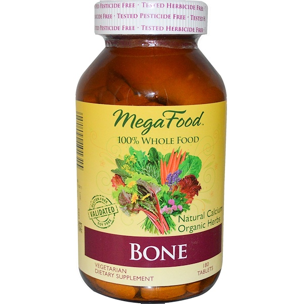 MegaFood, Bone, 180 Tablets (Discontinued Item)