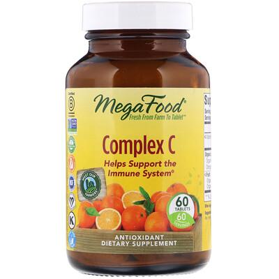 Купить MegaFood Complex C, 60 таблеток