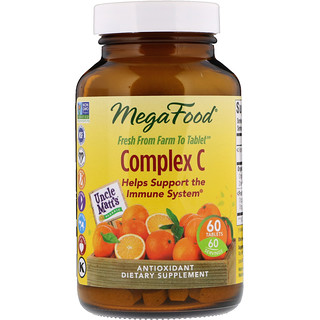 MegaFood, コンプレックス C, 60 錠