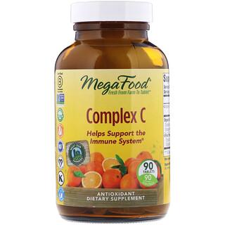 MegaFood, Complejo de vitaminaC, 90comprimidos