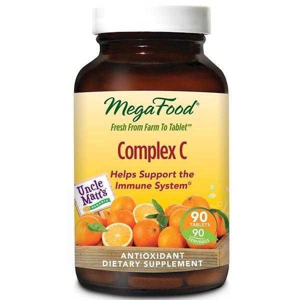 MegaFood, Complex C, 90 таблеток