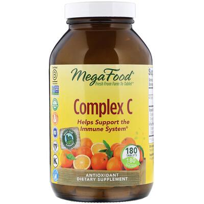 Купить MegaFood Комплекс C, 180 таблеток