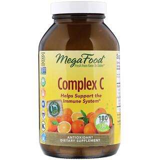 MegaFood, Complejo C, 180 tabletas