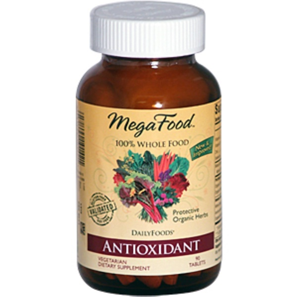MegaFood, DailyFoods, Antioxidant, 90 Tablets (Discontinued Item)
