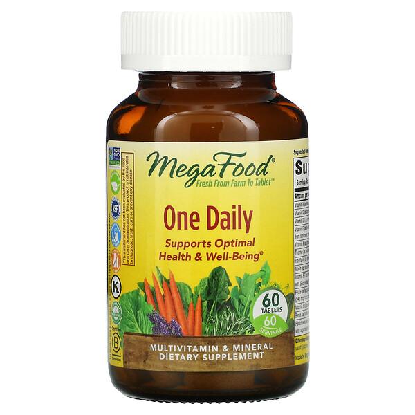 One Daily, витамины для приема один раз в день, 60таблеток